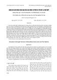 Đánh giá khả năng chịu hạn của các dòng tự phối và tổ hợp lai ngô nếp