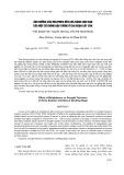 Ảnh hưởng của molipđen đến khả năng chịu hạn của một số giống đậu tương ở giai đoạn cây con