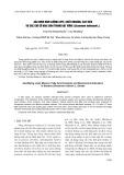 Xác định hàm lượng lipit, chất khoáng, axit béo và các chỉ số hóa sinh trong hạt vừng (Sesamum indincum L.)