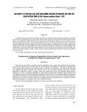 Xác định tỷ lệ tiêu hóa các chất dinh dưỡng của một số nguyên liệu thức ăn giàu protein trên cá dìa Siganus guttatus (Bloch, 1787)
