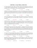 Bài tập trắc nghiệm Chương 1: Giao thoa ánh sáng (Có đáp án)
