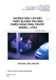 Hướng dẫn lắp đặt thiết bị kiểm tra đèn chiếu sáng phía trước Model: Lite3