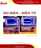 Giáo trình Đo điện - Điện tử: Phần 1