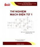 Giáo trình Thí nghiệm mạch điện tử 1 (sử dụng cho hệ đại học): Phần 1