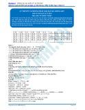 Lý thuyết và phương pháp giải bài tập amino axit (Đáp án bài tập tự luyện) - Vũ Khắc Ngọc