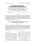 Nghiên cứu điều chế dung dịch Nano Tio2 và bước đầu thử nghiệm trừ Tobacco Mosaic Virus (TMV)