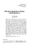 Chăm sóc sức khỏe cho trẻ em ở Việt Nam trong giai đoạn hiện nay