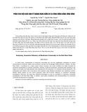 Phân tích hiệu quả kinh tế ngành hàng nấm ăn tại vùng đồng bằng sông Hồng