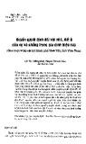 Quyền quyết định đối với nhà, đất ở của vợ và chồng trong gia đình hiện nay (Qua cuộc khảo sát tại thành phố Vĩnh Yên, tỉnh Vĩnh Phúc)