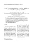 Các vấn đề trong phát triển điện gió ở Việt Nam - Nghiên cứu từ trường hợp Nhà máy điện gió Bình Thuận