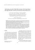 Ảnh hưởng của một số đặc điểm ăn uống và lối sống tĩnh tại đến bệnh béo phì ở nam học sinh tiểu học Hà Nội năm 2012