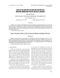 Khảo sát khả năng hấp phụ chất màu xanh metylen trong môi trường nước của vật liệu CoFe2O4/Bentonit