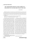 Quá trình hình thành và phát triển của loại hình tác giả nhà nho ẩn dật Việt Nam