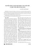 Nguyễn Trãi và Ngô Thì Nhậm – Hai cuộc đời và một tầm nhìn ngoại giao