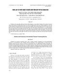 Phân lập và tuyển chọn vi khuẩn sinh tổng hợp Phytase ngoại bào