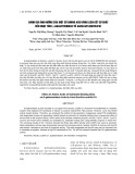 Đánh giá ảnh hưởng của một số amino acid vùng liên kết cơ chất đến hoạt tính B-Galactosidase từ Bacillus subtilis G1