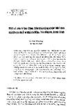 Một số yếu tố tác động đến khả năng nhận biết của người cao tuổi ở Khánh Mậu, Yên Khánh, Ninh Bình