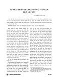 Sự phát triển của Phật giáo ở Việt Nam thời Lý-Trần
