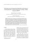 Ảnh hưởng của môi trường dinh dưỡng đến sự sinh trưởng và sinh tổng hợp Poly (3-Hydroxybutyrate) của chủng vi khuẩn Yangia sp. NĐ199