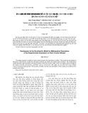 Ứng dụng mô hình Burckhardt để mô tả toán học đặc tính thực nghiệm của bánh xe máy kéo nông nghiệp
