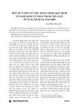 Một số ý kiến về việc hoàn thiện quy định về giám định tư pháp trong Bộ Luật tố tụng hình sự năm 2003
