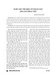Bước đầu tìm hiểu về thuật ngữ báo chí tiếng Việt