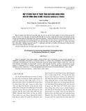Một số biện pháp kỹ thuật tăng khả năng nhân giống của cây đinh lăng lá nhỏ, Polyscias fruticosa (L.) Harms