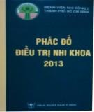 Bài giảng Phác đồ điều trị nhi khoa 2013 - Chương 2: Hồi sức - Cấp cứu - Tai nạn - Ngộ độc