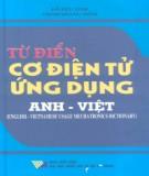 Ebook Từ điển cơ điện tử ứng dụng Anh - Việt: Phần 2