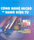 Ebook Công nghệ micrô điện tử và nanô điện tử: Phần 1 - NXB Giáo dục