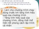 Bài giảng Chương 3: Các kỹ thuật xây dựng chương trình phần mềm (Phần 2) - TS. Vũ Thị Hương Giang