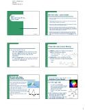Bài giảng Bài 6: Màu sắc trong đồ họa - Color model - Lê Tấn Hùng