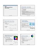 Bài giảng Bài 6: Màu sắc trong đồ họa - Color model