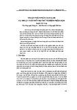 Thuật toán phân cụm K-MI và thuật toán hỗ trợ thử nghiệm phân cụm