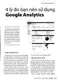 4 lý do bạn nên sử dụng Google Analytics