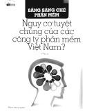 Bằng sáng chế phần mềm. Nguy cơ tuyệt chủng của các công ty phần mềm Việt Nam?