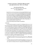 Sử dụng thuật tìm kiếm theo xác suất giải một số bài toán tối ưu kỹ thuật