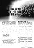 Các quy tắc phát triển ứng dụng PHP an toàn
