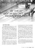 Kỹ thuật hợp BURST kết hợp trong mạng OBS