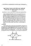 Một thuật toán di truyền cho thiết kế Topology ảo trong mạng cáp quang