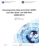 Ebook Chương trình chia sẻ tri thức của Hàn Quốc với Việt Nam