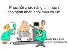 Bài giảng Phục hồi chức năng tim mạch cho bệnh nhân nhồi máu cơ tim
