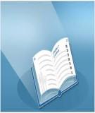 Mục lục Nhi khoa 1 (Nhi khoa cơ sở  - Nhi dinh dưỡng)