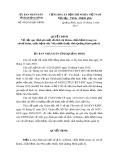 Quyết định số: 09/2015/QĐ-UBND