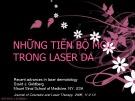 Bài giảng Những tiến bộ mới trong laser da