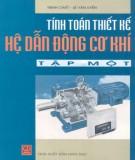 Hệ thống Tính toán thiết kế hệ thống dẫn động cơ khí (Tập 1): Phần 2