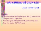 Bài giảng Đại cương về giun sán - PGS.TS. Nguyễn Văn Đề