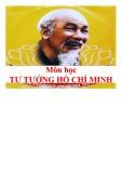 Bài giảng Tư tưởng Hồ Chí Minh: Bài 6 - Tư tưởng Hồ Chí Minh về dân chủ và xây dựng nhà nước của dân, do dân và vì dân