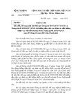 Thông tư sửa đổi, bổ sung một số Điều tại Thông tư số 07/2013/TT-BXD và  Thông tư số 18/2013/TT-BXD về hướng dẫn việc xác định các đối tượng được vay vốn hỗ trợ nhà ở theo Nghị quyết số 02/NQ-CP ngày 07 tháng 01 năm 2013 của Chính phủ