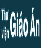 Giáo án làm văn: Tiểu sử tóm tắt - GV. Trương Thị Hồng Dịu